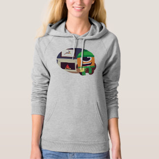Max Coffee by the fire Hoodie