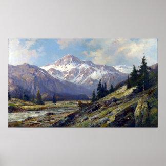 Max Cornelius Rocky Mountains Poster