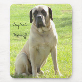 Max, English Mastiff Mouse Pad