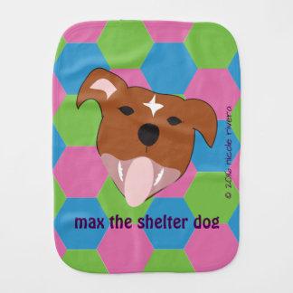 Max | Hexagon Burp Cloth