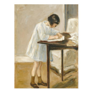 Max Liebermann- The Artist's Granddaughter Postcard