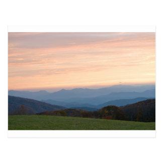max patch sunrise postcard