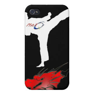 Max-Q Master Dragon Karate Case for Apple iPhone 4 Covers For iPhone 4