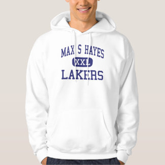 Max S Hayes - Lakers - Vocational - Cleveland Ohio Hoodie
