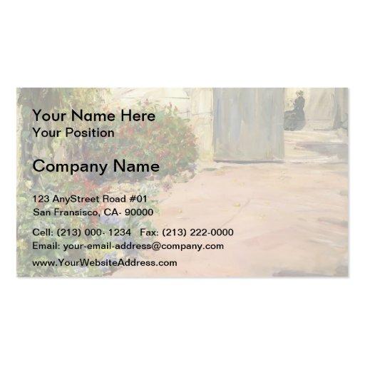 Max Slevogt- Summer House Garden Business Cards
