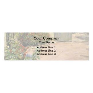 Max Slevogt- Summer House Garden Business Card Templates