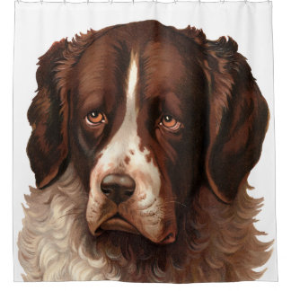 Max the Big Dog Shower Curtain