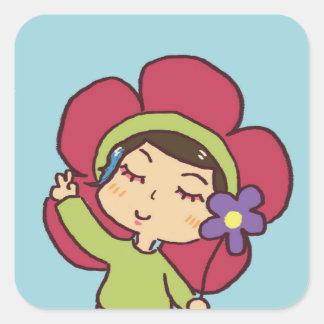 max the flower sticker !!