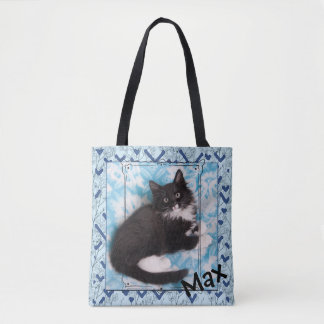 Max the Kitten Tote Bag