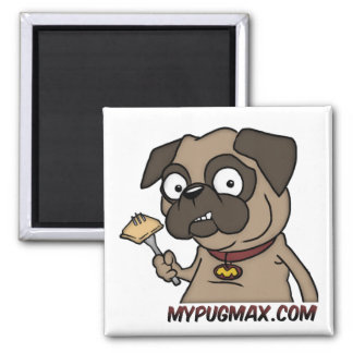 Max The Pug Magnet