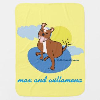 Max & Willamena | Baby Blanket