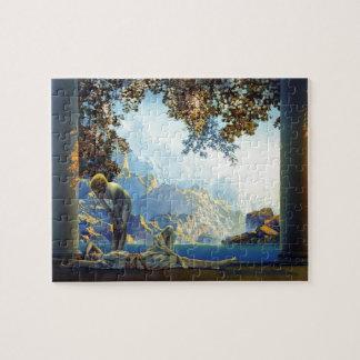 Maxfield Parrish Daybreak Jigsaw Puzzle