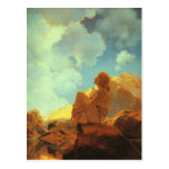 Maxfield Parrish Morning (Spring) Vintage Art Postcard