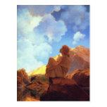 Maxfield Parrish Morning, Spring, Vintage Fine Art Postcard