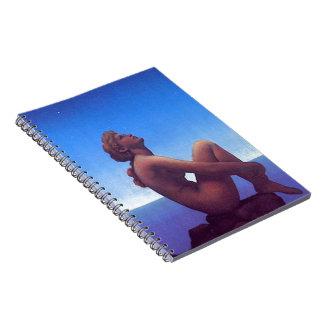 """Maxfield Parrish Stars"" Notebook"