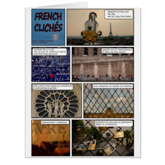 """Maxi card """"French Cliches"""" Disentanglement"""