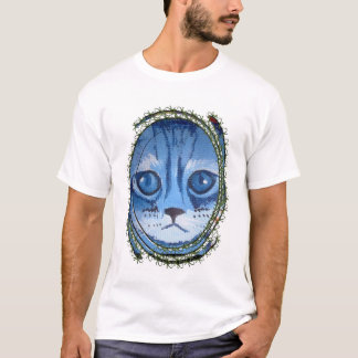 maxi me's blue cat T-Shirt