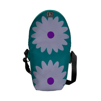 Maxi Purple Flower! Commuter Bags