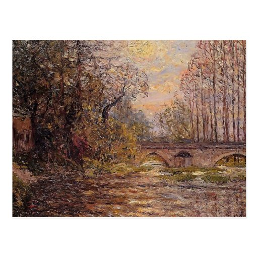 Maxime Maufra- Sunset on the Loire Postcard