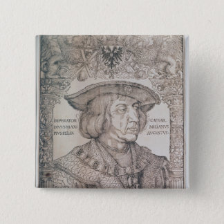 Maximilian I, Emperor of Germany , 1518 15 Cm Square Badge