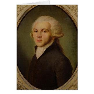 Maximilien de Robespierre  c.1793 Card