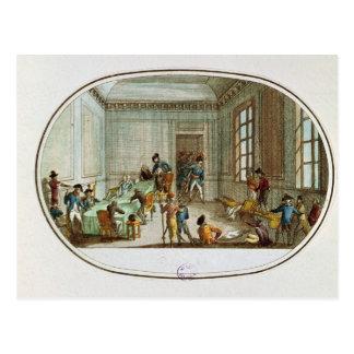 Maximilien de Robespierre  injured Postcard