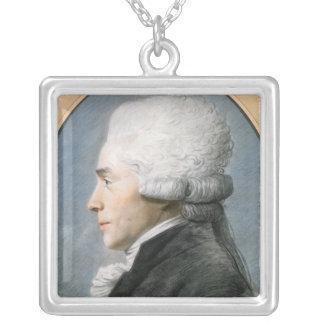 Maximilien de Robespierre Silver Plated Necklace