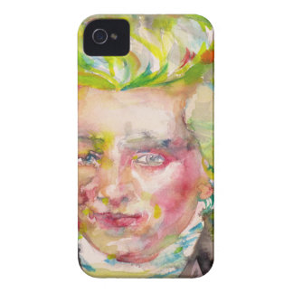MAXIMILIEN ROBESPIERRE - watercolor on paper iPhone 4 Case-Mate Cases