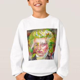 MAXIMILIEN ROBESPIERRE - watercolor on paper Sweatshirt