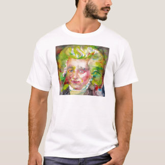 MAXIMILIEN ROBESPIERRE - watercolor on paper T-Shirt