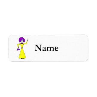 Maxine Return Address Label