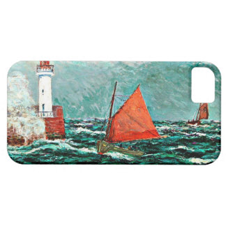 Maxine Maufra art: Back to Fishing Boats iPhone 5 Case