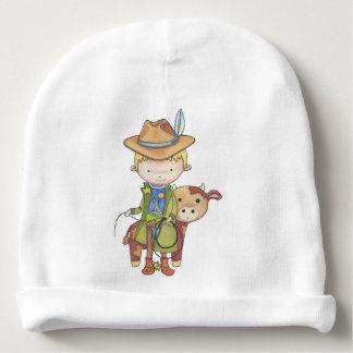 Maxou the cowboy baby beanie
