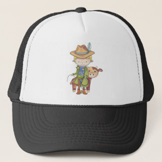Maxou the cowboy trucker hat