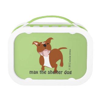 Max's Yubo Lunchbox, Green Lunchbox
