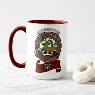 Maxwell Clan Badge Combo 15oz Mug