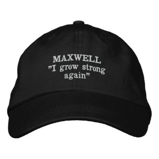 Maxwell Clan Motto Embroidered Hat
