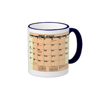 May 2012 Patriotic Calendar Mug Please See Notes