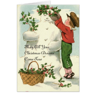 May All Your Christmas Dreams Come True Card