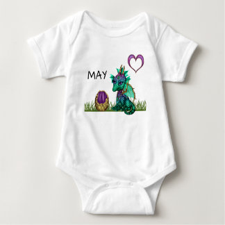 May Baby Dragon Birthday t-shirt