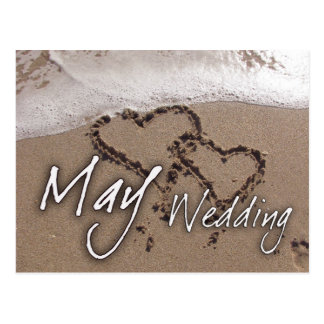 May Beach Destination Weddin....... - Customized Postcard
