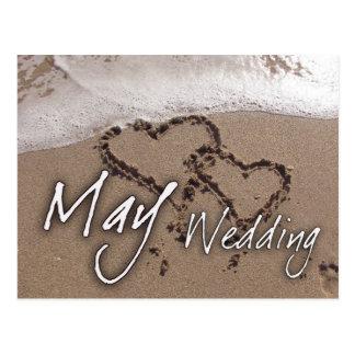May Beach Destination Weddin....... - Customized Post Cards