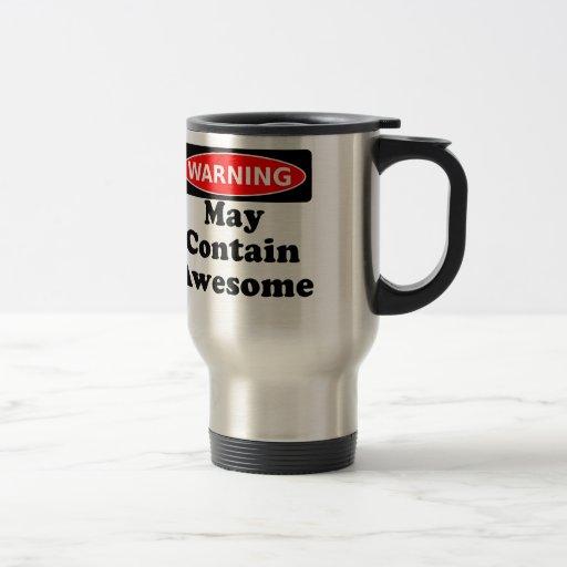 May Contain Awesome Mug