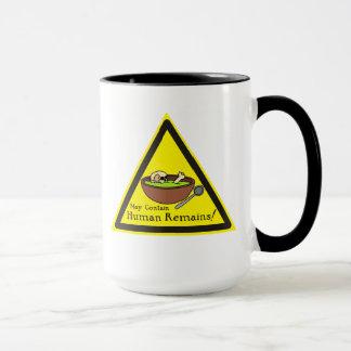 May Contain Human Remains Mug