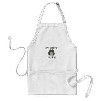 May Contain Nuts Winter White Hamster Standard Apron