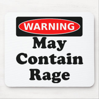 May Contain Rage Mousepad