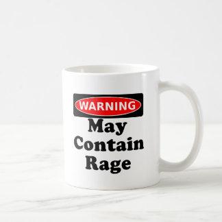 May Contain Rage Mug