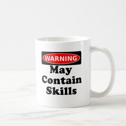 May Contain Skills Mug