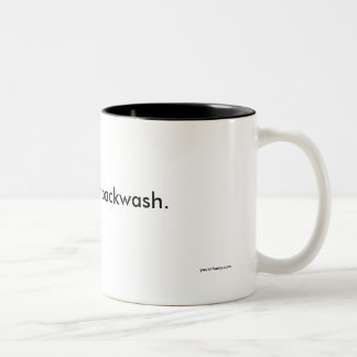 May contain spit black inner mug