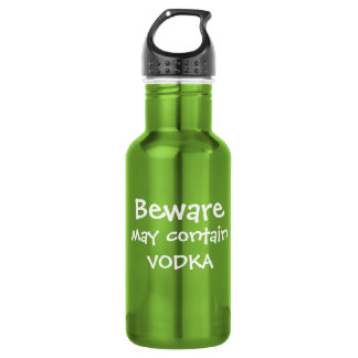May Contain Vodka 532 Ml Water Bottle